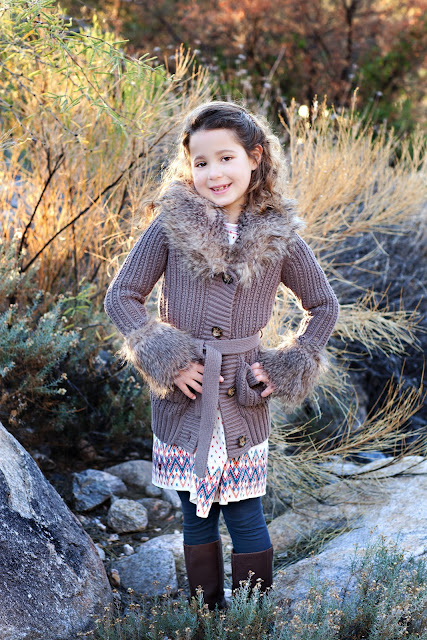 Sahuarita girl modeling a what to wear classic sweater
