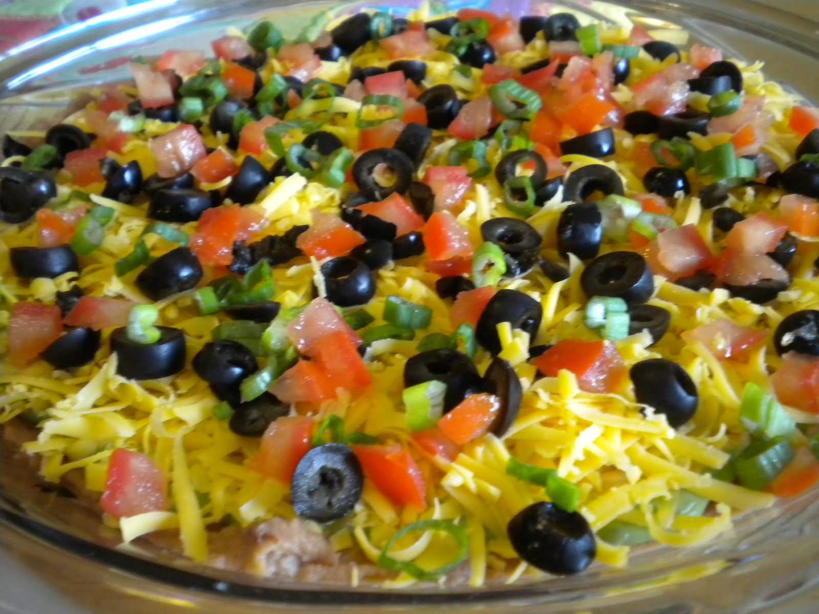 Try It...You Might Like It!: 7 Layer Taco Dip...Yumminess...Share ...