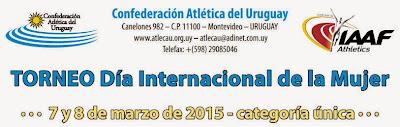 Pista - Torneo Día internacional de la mujer (Montevideo, 07-08/mar/2015)