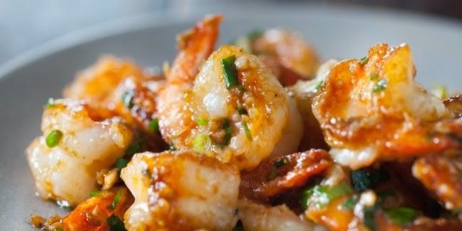 Resep Tumis udang bawang enak dan gurih