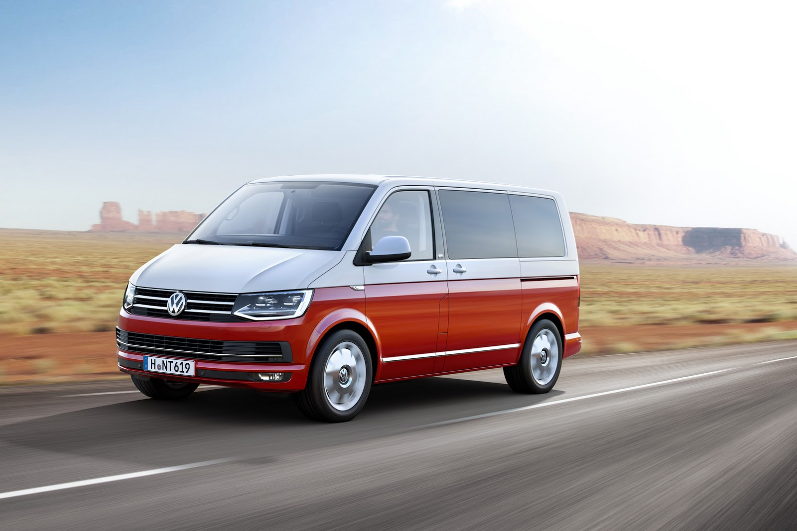this is vw 39 s all new t6 transporter van carscoops