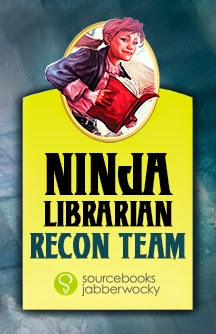 Ninja Librarians Badge