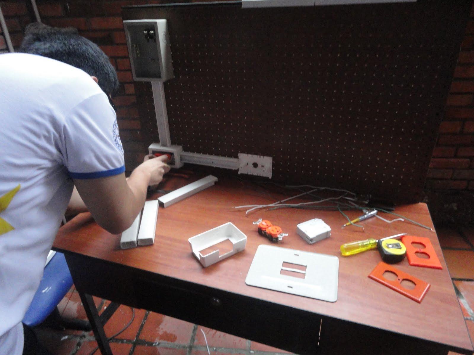 Red 39 s pc practica electricidad de instalaci n tomas - Instalacion de electricidad ...