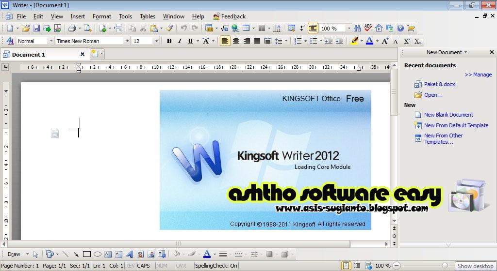 Perjalanan naga dolan software kingsoft office suite free - Kingsoft office free download for windows 7 ...