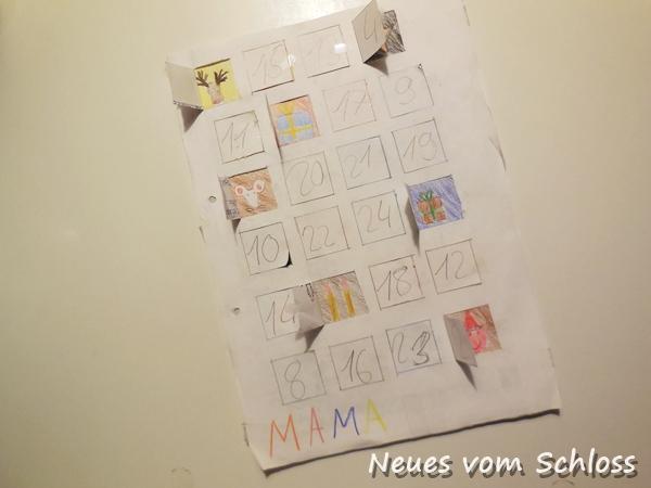 Adventskalender, upcycling, Kinderbastelei-neuesvomschloss.blogspot.de