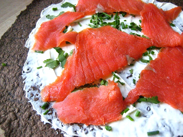 Smoked Salmon Roll-Ups Recipe — Dishmaps