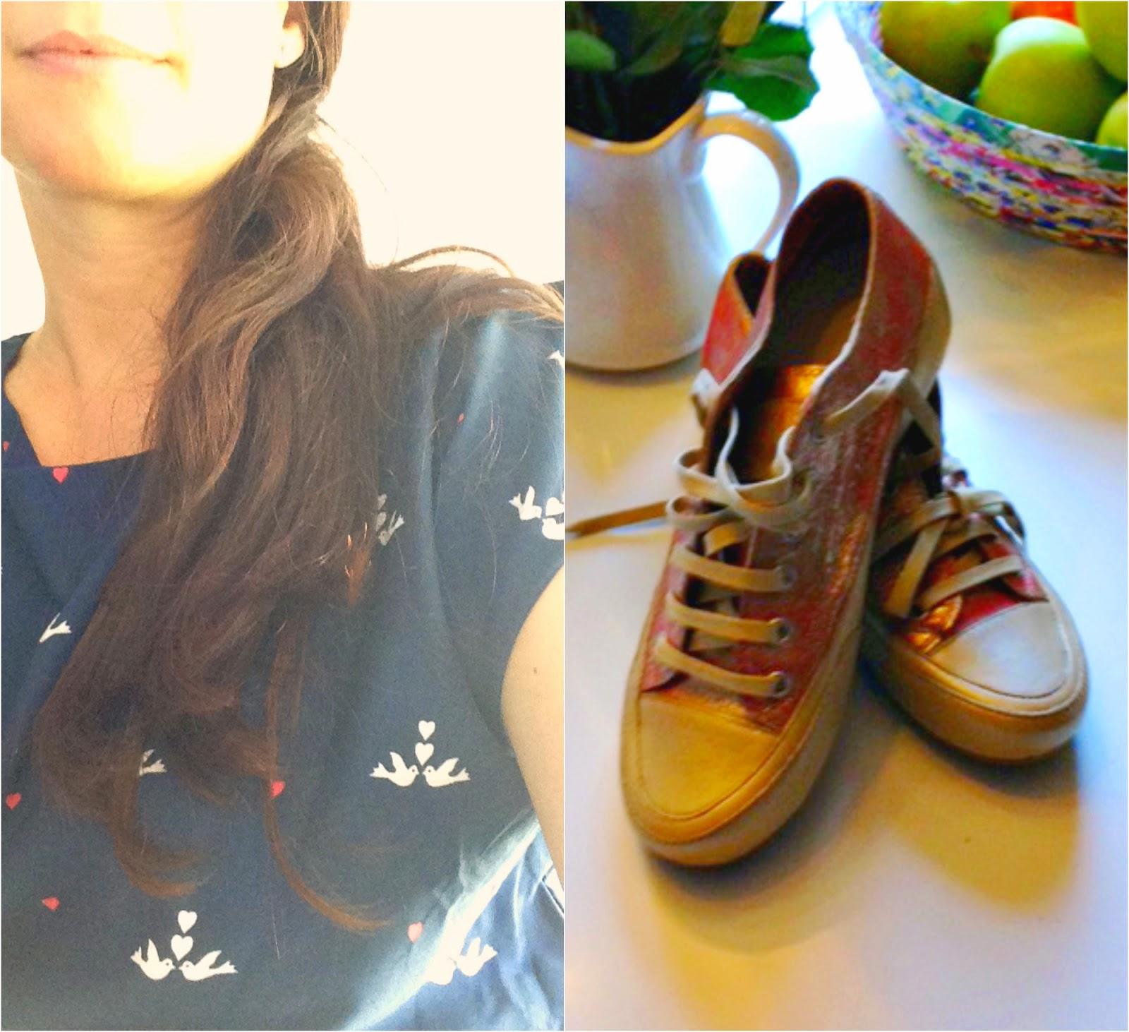 Wochenglück im Sommerkleid und mit neuen Schuhen