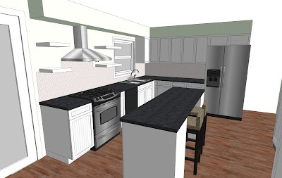 Kitchen Renovation 3d Model