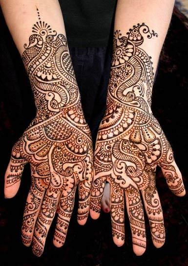 Mehndi Patterns For Arms : Simple mehndi designs henna bridal