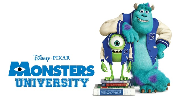 Monsters University Character Banner