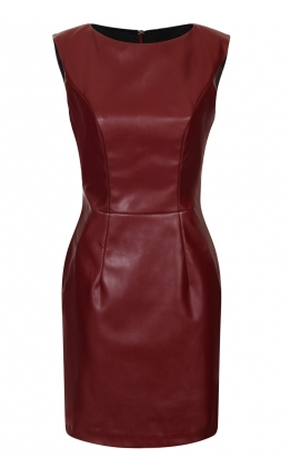 http://www.hybridfashion.com/dresses-c5/cannes-faux-leather-pencil-dress-oxblood-p883