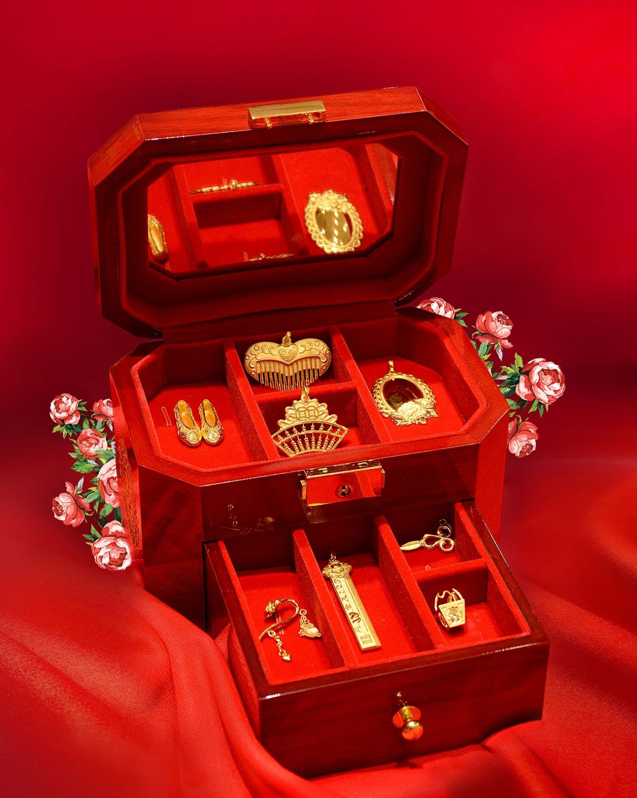 Wah Chan Gold Jewellery Why We Need 9 Treasures in Chinese Wedding