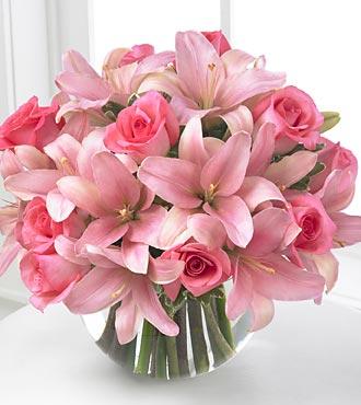Pink wedding bouquets lubne bukiety