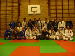 BJJ Seminar Augusto Ferrari at our school in Den Haag