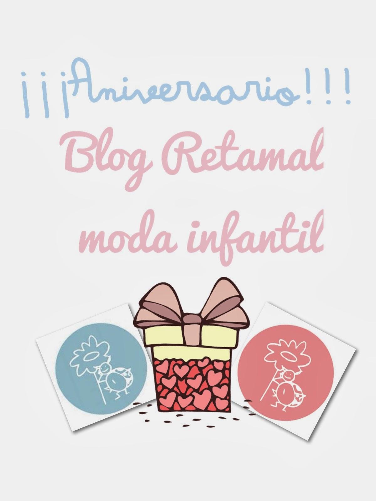Aniversario Blog Retamal moda infantil y bebe