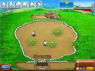 لعبة المزرعة السعيدة اون لاين play Happy Farm games on Facebook