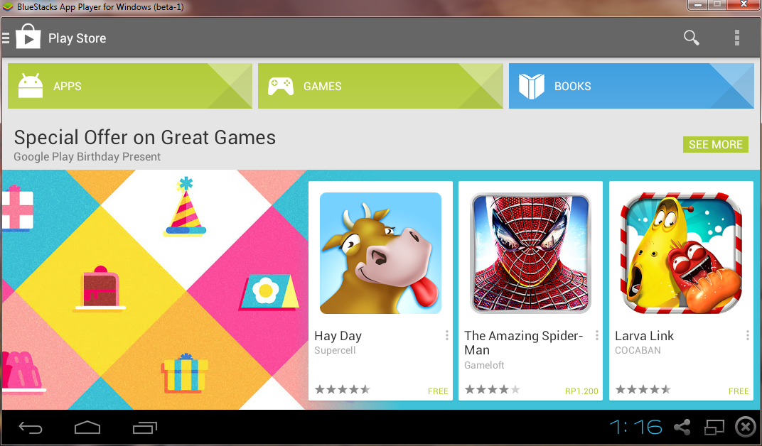Download BlueStacks HD App Player ICS 0.8.4.3036 Offline Installer