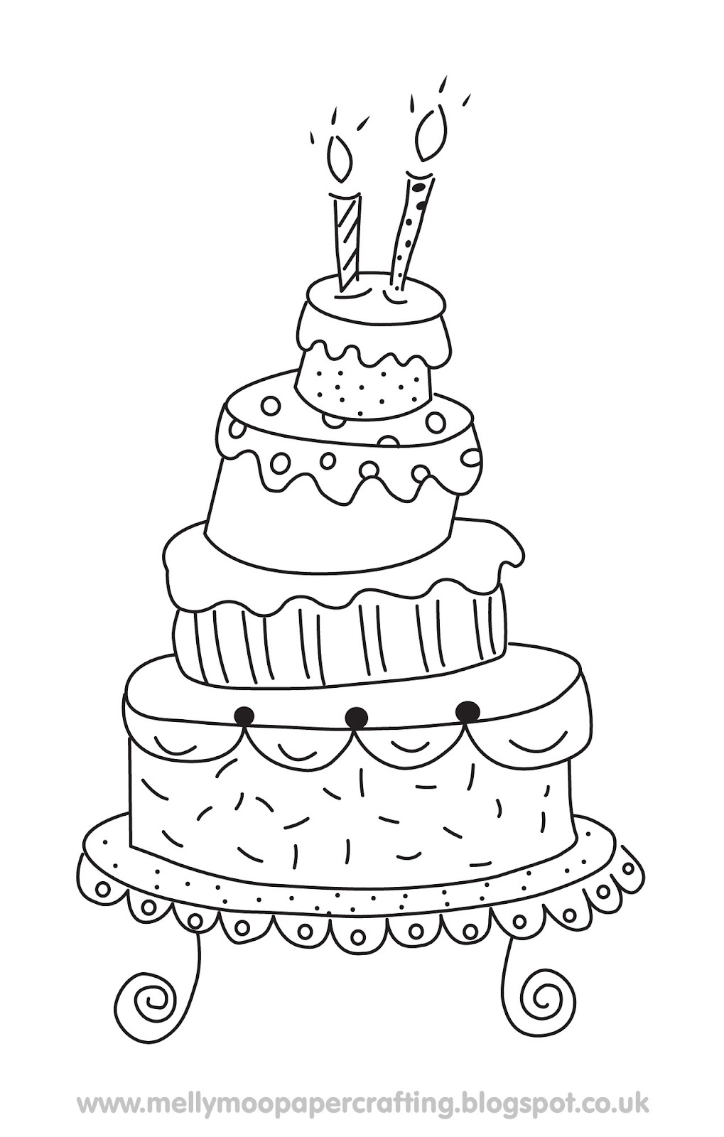 How To Use Woodware Cake Stamp