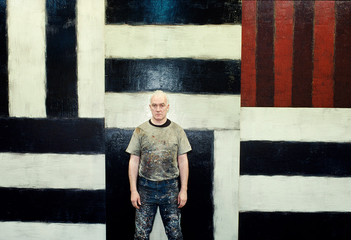 Sean Scully A Crude Hand Painted Sign
