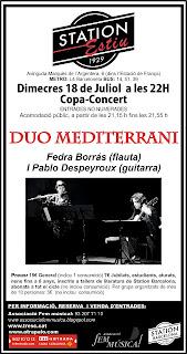 Duo Mediterrani al Station Bar