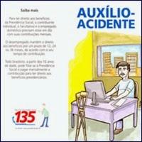 auxilio acidente, INSS, Previdência, Segurados