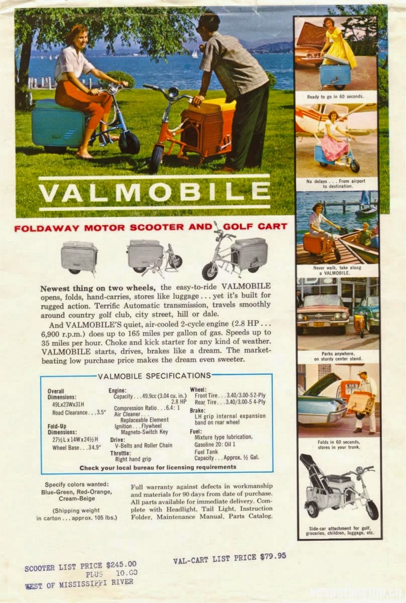 Valmobile Foldaway Motor Scooter