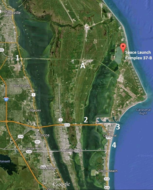 Location Of Port Canaveral Florida: Space: NASA's Orion Spacecraft Set To Launch On Dec. 4