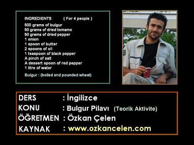 Boiled and Pounded Wheat Meal - Bulgur Pilavı