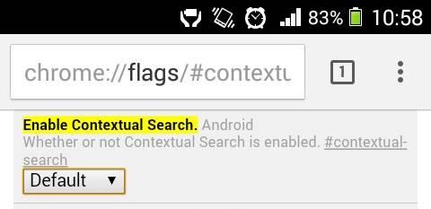 Google Contextual Search