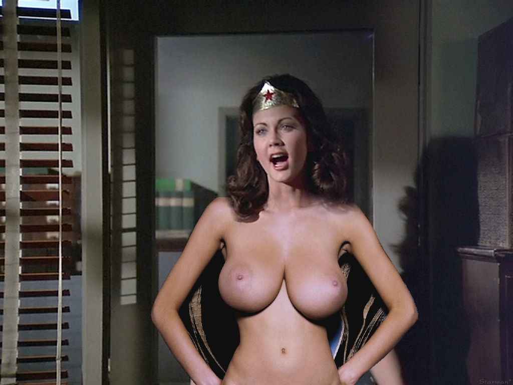 Lynda woman carter nude sexy wonder