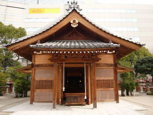 警固神社拝殿