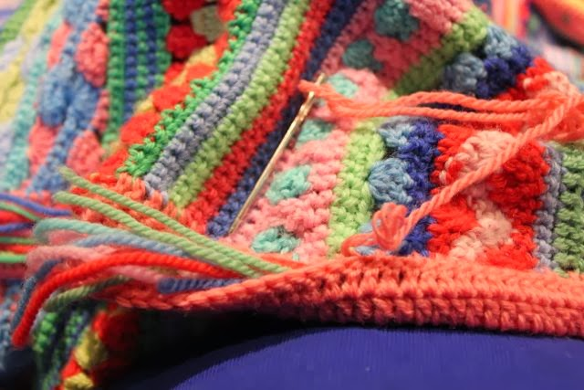 Crocheting Too Loose : used a hook one size smaller so it wouldnt be too loose (3.00mm)