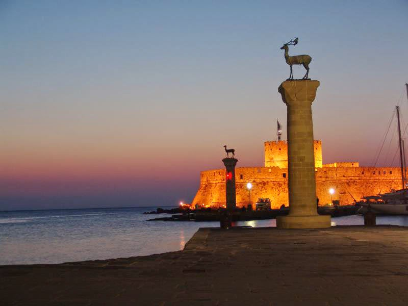 Imagen Puerto de Rodas (Grecia)