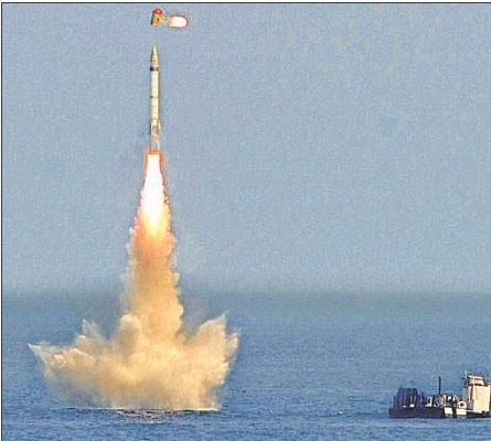 k 15 sagarika missile  china now it s
