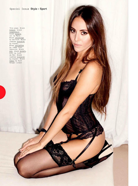 Jessica Michibata Esquire UK Magazine 2013