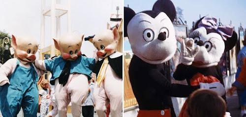 13 Fotos antigas que farão você esquecer a magia da Disney