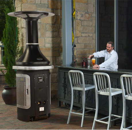 Evaporative Cooling Unit That Lowers Outdoor Temperatures By As Much 7 Degrees Celsius Hospitality Professionals Can Maximize Their Es