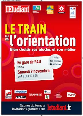 Train de l'orientation 2013 à Pau