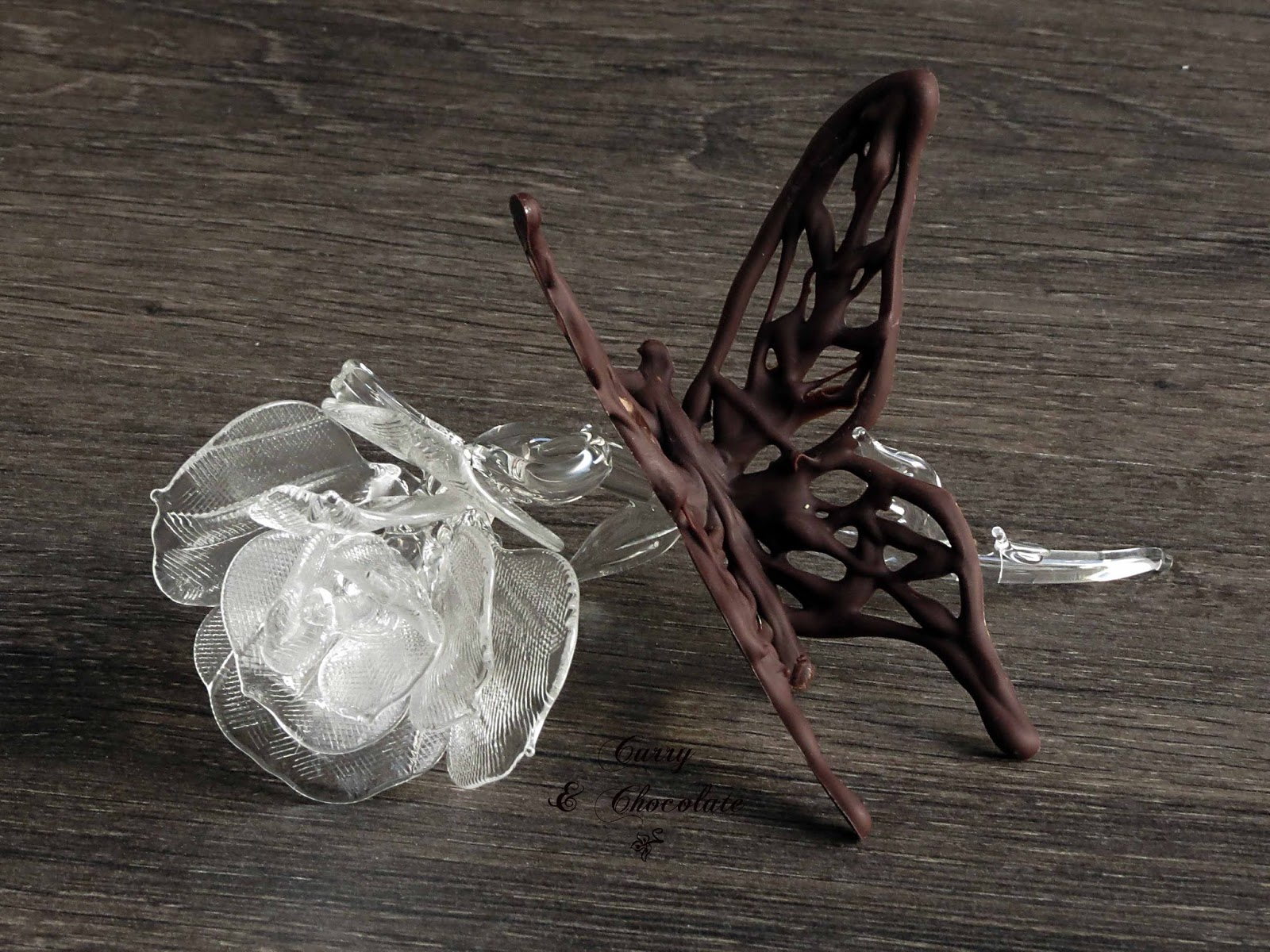 Cómo hacer mariposas de chocolate – How to make chocolate butterflies