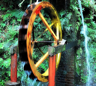 Roda d'Água, no Parque da Gruta, no Distrito de Otávio Rocha, em Flores da Cunha.