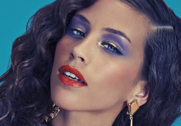 70s eye makeup. Magazine - 70s Revival