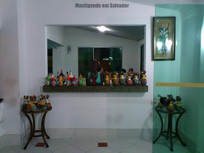 Restaurante Yemanjá: Parte da sala de espera