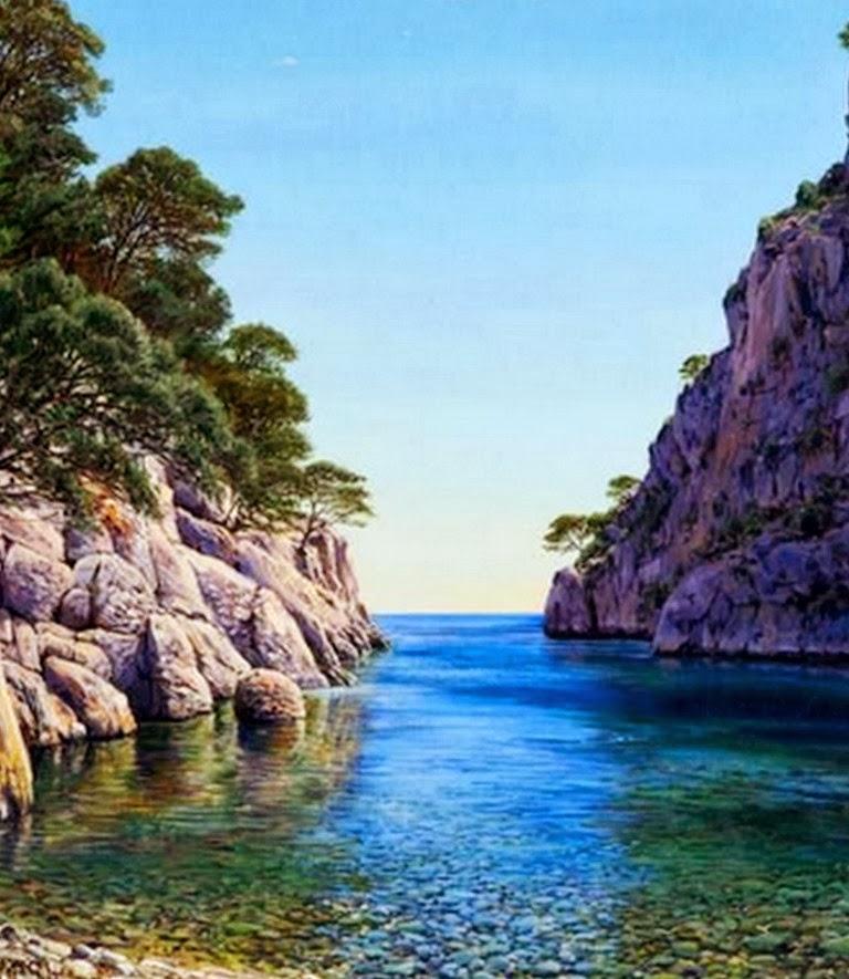 Cuadros modernos pinturas y dibujos cuadros de paisajes - Cuadros espectaculares modernos ...