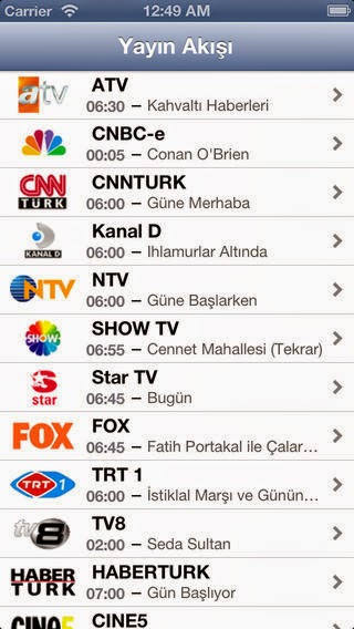Tv Yayın Akışı