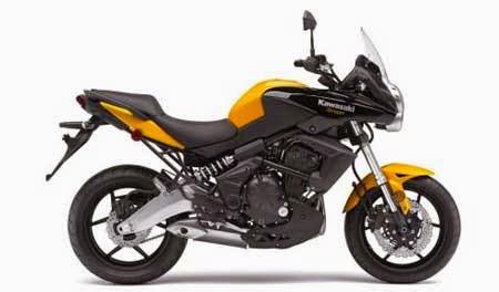 Kawasaki Versys 650 Kuning