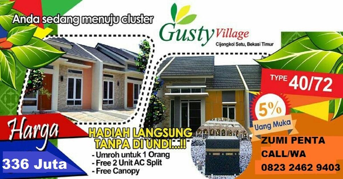 Gusty Village | Cijengkol Setu Bekasi Timur