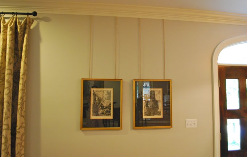 interior design musings: Picture Hanging Details
