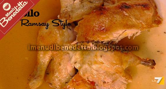 Pollo alla Gordon Ramsay di Benedetta Parodi