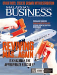 MALAYSIAN BUSINESS SEPT 16th ISSUE OF 2014 NOW ON SALE