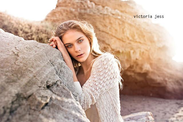 Saquitos de encaje primavera verano 2016 Victoria Jess.